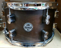 "DW PDP Concept Maple Snare Drum 12x8"" Dark Walnut Snaredrum Dry Maple Rullante"