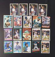 Gary Sheffield Baseball Card Lot of 19 Rookie Donruss Bowman Topps Upper Deck