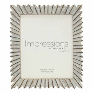 Modern Sunburst Design Photo Frame.4 sizes Avail.4x6. 5x7. 6x8. 8x10  New