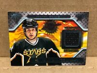 BLAKE SLOAN GU Jersey Hockey Card 2001 Pacific Authentic Titanium NM-MT+ to Mint