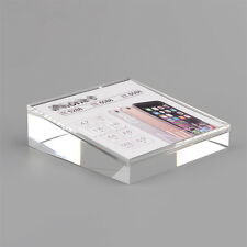 5PCS Clear Cell Phone Price Tag Display Stand rack holder General Universal Z10