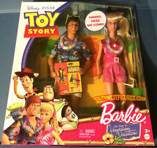 Ken & Barbie (Hawaiian Vacation) (Toy Story) (2010) (Factory Sealed)