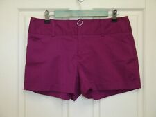 Daisy Fuentes Womens Size 6 (33) Purple Casual Shorts Stretch 46-15702