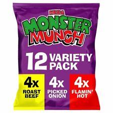 Monster Munch Variety Snacks 22g x 12 per pack