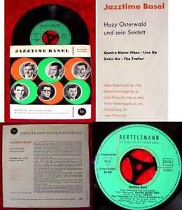 EP Hazy Osterwald Sextett: Jazztime Basel 1955 Bertelsmann Schallplattenring