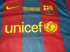 barcelona shirt nike 2010/11 messi back genuine new  without tags xl