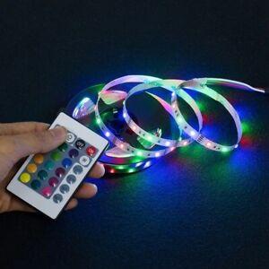 LED Strip Light USB Flexible Lamp Ribbon TV Desktop Screen Back Light Diode Tape