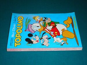 TOPOLINO LIBRETTO # 272 originale Walt Disney Arnoldo Mondadori Edit. 12/02/1961