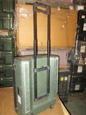 25x19x10 Ecs Wheels Handle Frp Equipment 2 compartment Divided Ata Hard Case