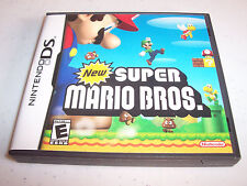 New Super Mario Bros. (Nintendo DS) Lite DSi XL 3DS 2DS w/Case (No Manual)
