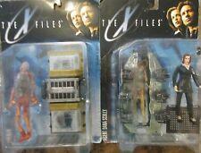The X-Files Agent Dana Scully w/Cryopod Chamber & Fireman Figures McFarlane Toys