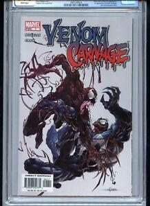 Venom vs Carnage #1 CGC 9.8 White Pages 1st Patrick Mulligan/Toxin