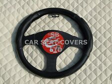 i - TO FIT AN ISUZU TROOPER, STEERING WHEEL COVER, CARBON LOOK SWC 58 MEDIUM