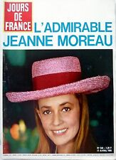 1965: JEANNE MOREAU_GENEVIÈVE GRAD_LUDMILA TCHERINA_FRANCINE BERGE_DANY SAVAL