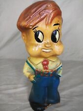 Rare Puzzy Paper Mache Bank Doll 1940s The Good Habit Kids House of Puzzy