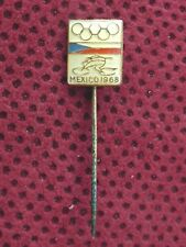 CZECHOSLOVAKIA - BICYCLE NATIONAL OLYMPIC COMMITTEE MEXICO 1968 PIN BADGE