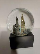 New York City Saks Fifth Avenue Musical Snow Globe - Plays New York, New York