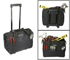 20 Inch Rolling Tool Bag Organizer Heavy Duty Power Tools Construction Painter