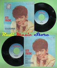 LP 45 7'' RITA PAVONE Cuore Il ballo del mattone 1998 RED RONNIE no cd mc