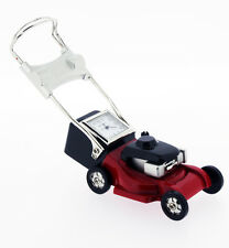 Novelty Lawnmower Miniature Clock in Red & Black