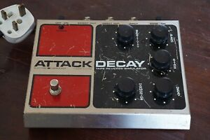 VINTAGE ELECTRO HARMONIX ATTACK DECAY - FREE NEXT DAY DELIVERY IN THE UK