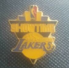 NBA Los Angeles Lakers SHOWTIME Pin Vintage OOP Ballard 77 Combs laVille