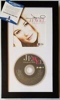 JEWEL SIGNED CD BAS COA BECKETT BGS AUTOGRAPHED ALBUM MUSIC SINGER DISPLAY AUTO