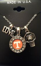 """New Tennessee Volunteers Love Basketball 18"""" Necklace, Gift For Her Mom"""