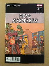 NEW AVENGERS V.4 #1 ED PISKOR HIP-HOP VARIANT COVER NM NEAR MINT 1ST PRINTING