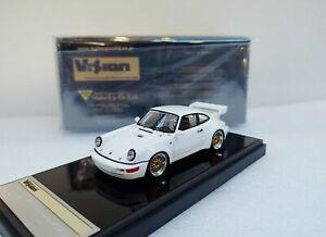 Porsche 911 (964) RSR 3.8 1993 (BBS wheel) White MAKE UP 1/43 #VM214A