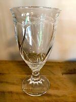 Noritake SWEET SWIRL CLEAR Iced Tea Glass  Discontinued Pattern