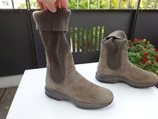 HOGAN by TOD`S TODS Interactive Ankle Boots Stiefel Leder Italy Gr.38,5 Neuw
