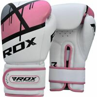 RDX F7 Ego Pink Boxing Gloves Punch Bag Training Muay Thai Fighting For Women