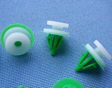 (2257) 10x moulures CROCHETS pour renault Klip pour moulure blanc vert