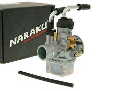 Carburateur Naraku 17,5mm Starter Manuel pour Minarelli Adly Aprilia Benelli