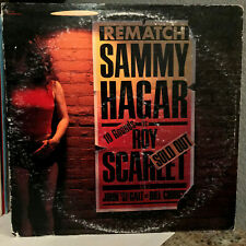 "SAMMY HAGAR - Rematch (SN-16336) - 12"" Vinyl Record LP - EX"
