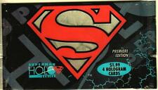1996 Skybox Superman Holo Series Trading Card Pack