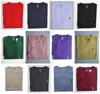 Men Polo Ralph Lauren V NECK T Shirt Size S M L XL XXL - STANDARD FIT