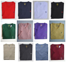 Men Polo Ralph Lauren V NECK T Shirt Size S M L XL XXL - STANDARD FIT Cotton Tee