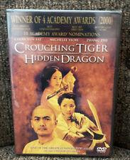 Crouching Tiger, Hidden Dragon (Dvd, 2001) New Mis Oscar Academy Award Winner