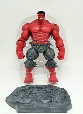 Diamond Select Marvel Select Red Hulk Action Figure New Loose Save On Shipping