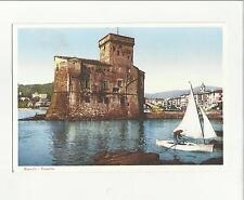 93664 rapallo castello  vecchia cartolina