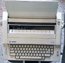 Maquina de Escribir Eléctrica Antigua Hermes TT 11 - Coleccionista