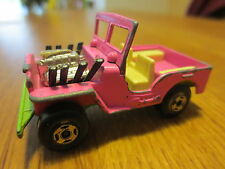 LESNEY MACHTBOX SUPERFAST No. 2 Jeep Hot Rod 1971