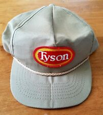 VTG-1980s Tyson Foods Chicken trucker adjustable hat Patch Madr in the USA