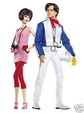 * 2007 Speed Racer Barbie and Ken Dolls *  NRFB *