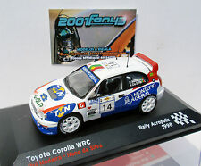 TOYOTA COROLLA WRC #14 MADEIRA ACROPOLIS 1998 1/43 ALTAYA