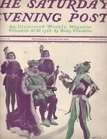 1902 Saturday Evening Post February 22-Harrison Fisher Jester; Philippines worth