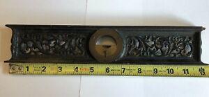 """Davis Level & Tool Co. 12"""" Cast Iron Inclinometer ANTIQUE Level"""