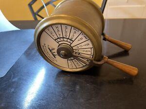 Brass Ship's Engine Order Telegraph Vintage Maritime Bartholomew & Son